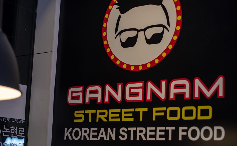 Gangnam Street: Street Food without being in Korea
