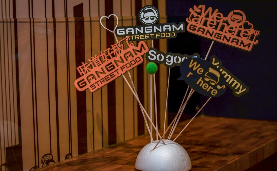 Gangnam Street Signs