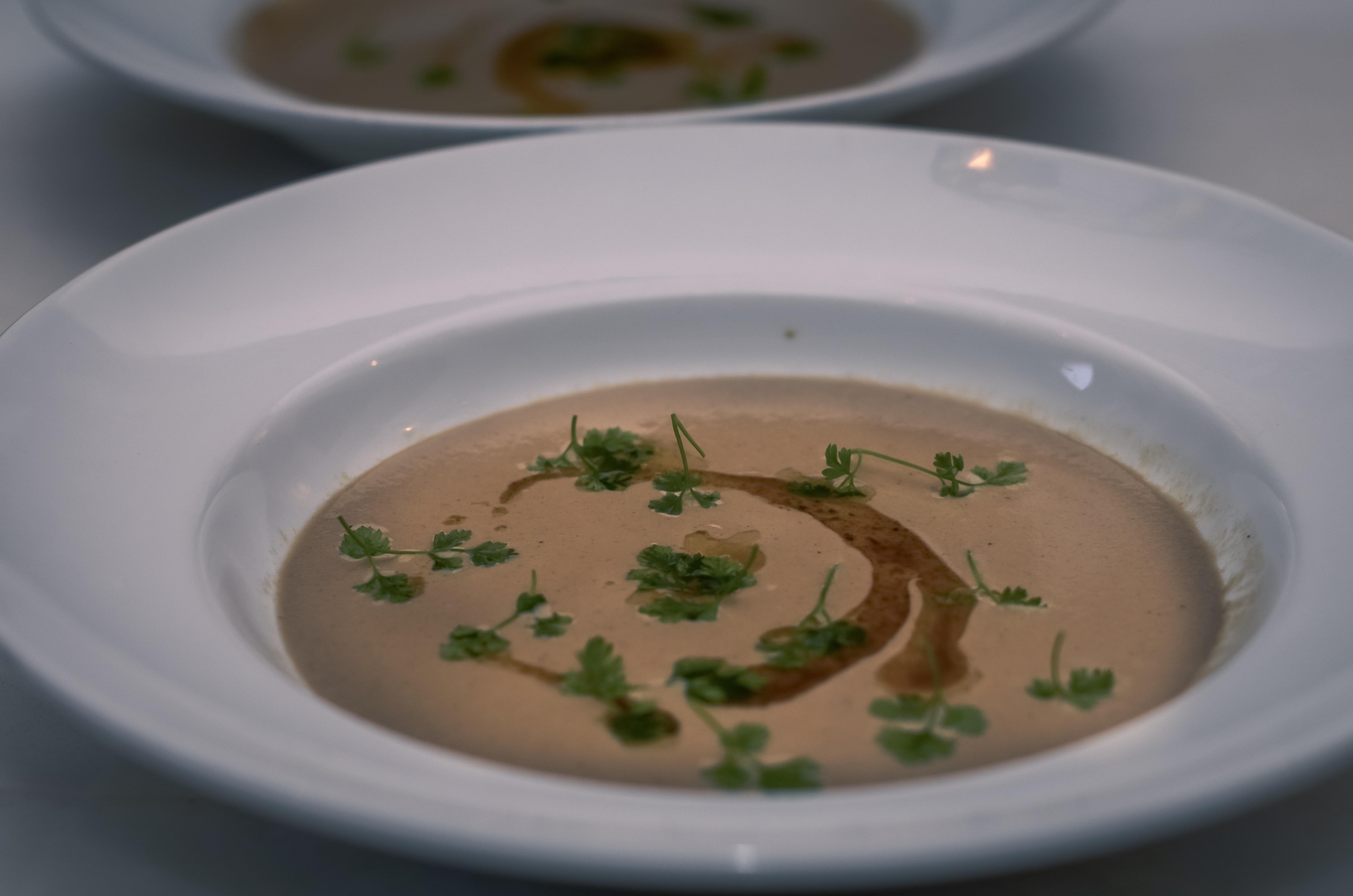 Deane House Mushroom Soup